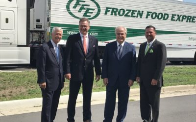 TRANSPORTATION COMPANY TO INVEST $4.7 MILLION IN ROCKY MOUNT: FFE TRANSPORTATION TO CREATE 96 NEW JOBS IN NASH COUNTY