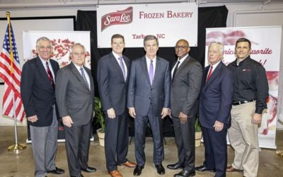SARA LEE FROZEN BAKERY TO EXPAND IN EDGECOMBE COUNTY: GOVERNOR COOPER ANNOUNCES 108 JOBS AND $19.8M INVESTMENT