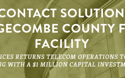 CUSTOMER CONTACT SOLUTIONS COMPANY SELECTS EDGECOMBE COUNTY FOR 200-JOB FACILITY