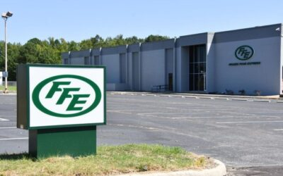New FFE distribution center takes shape